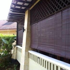 Bidai kayu wooden harga kilang ready stck malaysia