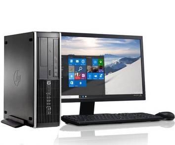 FULL SET i5 - 3470 / HP 6300 PRO / CPU PC DESKTOP