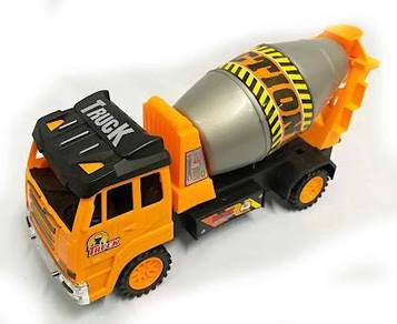 Toy lorry construction mixer truck - 28cm v1