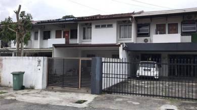 Double Storey Terrace House (999 Title) at Satok Kuching