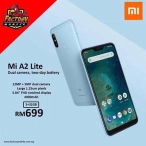 Xiaomi mi A2 Lite [ 3+32GB / 4+64GB ] M'sia Set