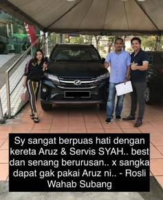 New Perodua Aruz for sale