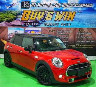 Buy&Win 2014 MINI COOPER S 2.0 with 5yrs Wrrnty