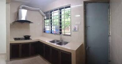 Single storey kepong baru limited unit renovated unit menjalara