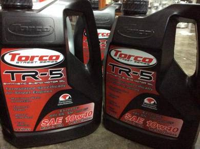 4Litre Torco TR-5 10W40 Semi Synthetic Engine Oil
