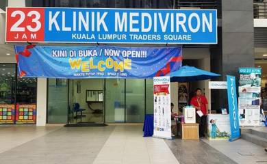Mediviron Kuala Lumpur Traders Square KLTS 23 Jam