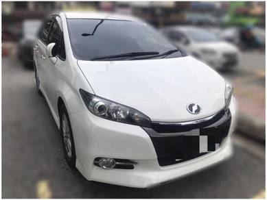 2015 Toyota WISH 1.8 S LOW MILEAGE DIRECT OWNER