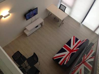 Lowest Price The Square One City USJ Subang Duplex Freehold Hill View