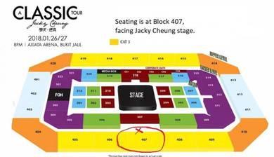 Jacky Cheung 27 Jan 2018