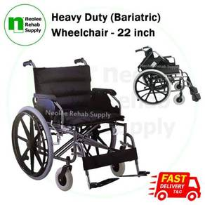 Heavy Duty XXL (Bariatric) Wheelchair 56cm