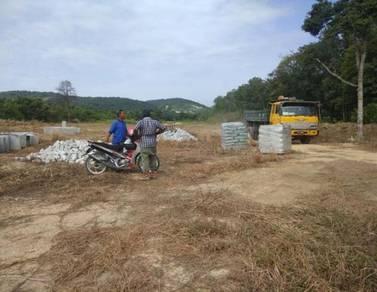 Tanah lot untuk dijual siap dengan infra ( geran individu,dlm proses )