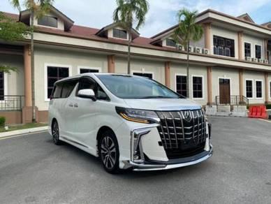 2020 Toyota ALPHARD 3.5 SC FULL SPEC NEW FACE