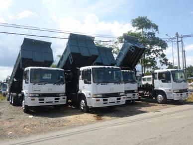 Hino Cargo and tipper LOri