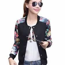 Women Flowery Bomber Jacket/ Cardigan