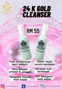 Cleanser Gold 100ml by Queen Of Magic