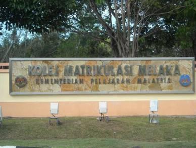 Chalet Homestay Kolej Matrikulasi Melaka KMM