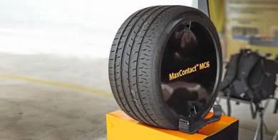 225/40/19 Continental MC6 New Tyre