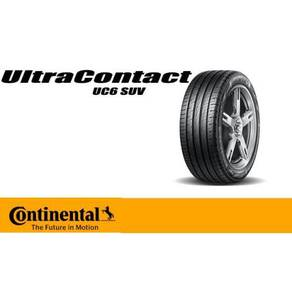 235/55/19 Continental UC6 SUV New Tyre