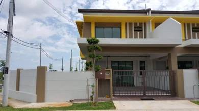 Corner lot double storey for sale seri pajam
