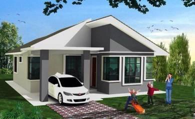 2 Unit Banglo Moden Dekat SHELL Baung, Kota Bharu