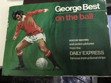 Classic GEORGE BEST ON THE BALL