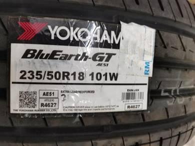 Promosi YOKOHAMA BLUEARTH AE51 235/50/18 Japan 21
