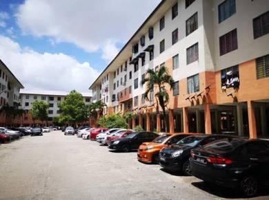 Flat Taman Sri Lanang, Desa Terbau ~Rumah Cantik boleh dpt Full Loan