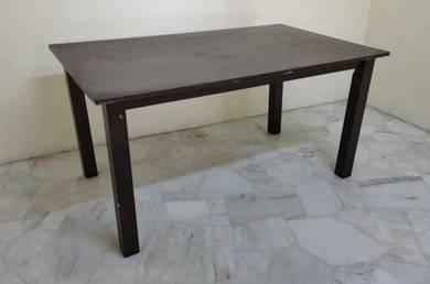 R16-D Meja Makan Kayu L.5' Wooden Dining Table