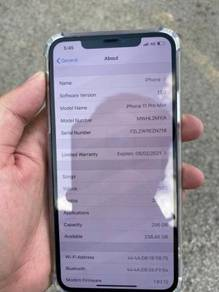 Iphone 11 pro max 256gb Nego Myset Lucky Draw