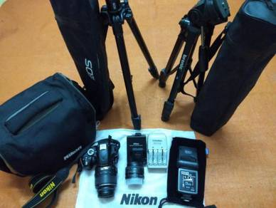 Original Nikon D3200 DSLR Camera Complete Set