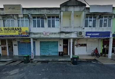 [below market 100k]2storey shop frontage mainroad taman beseri permai