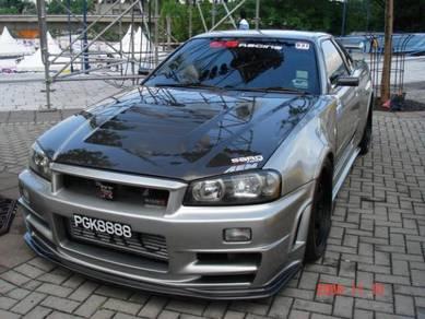 Nissan Skyline Gtr R34 For Sale >> Nissan Skyline R34 Bodykit