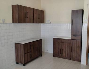 PK032 Almari Set Dapur Full-Set Kitchen Cabinet