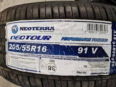 Promosi Tayar NEOTERRA NEOTOUR 205/55/16