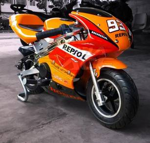 Pocket Bike Qt 2018 Honda Repsol