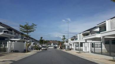 PARTLY FURNISHED 2 Sty SEMI D Bukit Banyan GATED AND GUARDED