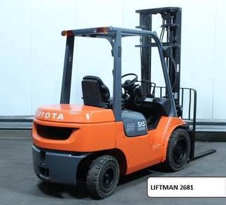 Sales & rental - forklift & reach truck