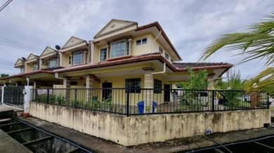 Double Storey Terrace Corner House For Sale at Jln Brayun,