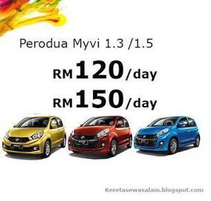 Rental MYVI auto 1.3