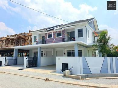 Rumah FREEHOLD 2 Tingkat Teres Di Klebang 🤩