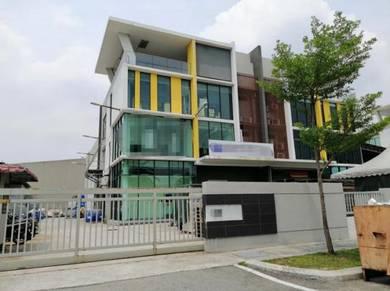 3. 5 Storey Semi-D Factory,162x66 Ft, Kaw Perindustrian Sg Puloh