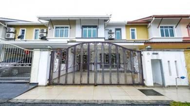Fully Extend Double Storey Taman Suria Tropika Seri Kembangan
