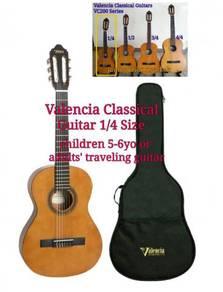Children 5Yo Guitar Classical Size 1/4 Valencia