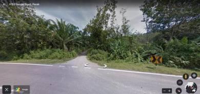 Freehold 2.68 cares agri land at sungai siput, perak