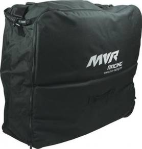 [New] Folding Bike Travel Trolley Suitcase