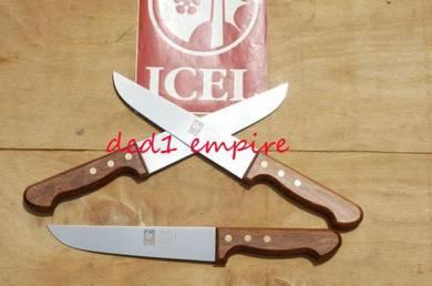 ICEL – pisau daging 18cm (hulu KAYU JATOBA)
