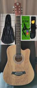 Acoustic Guitar With Truss Rod Techno TR38 Natural