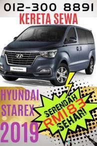 KERETA SEWA CAR RENTAL - Hyundai STAREX 2.5 - 2019
