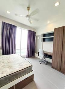 [ 2 BIGGER Room + 2 BATH FULLY ] Garden Plaza, Cyberjaya, near Skypar