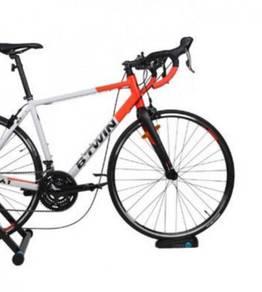 Btwin Bike Trainer Front Wheel Riser Block